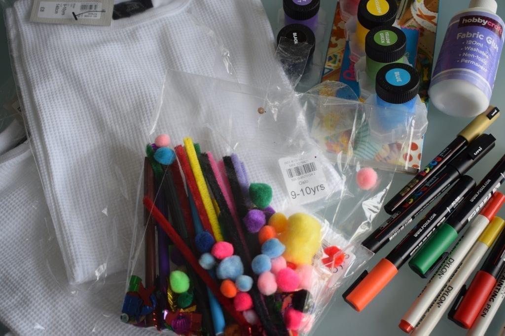 decorate t shirt kit