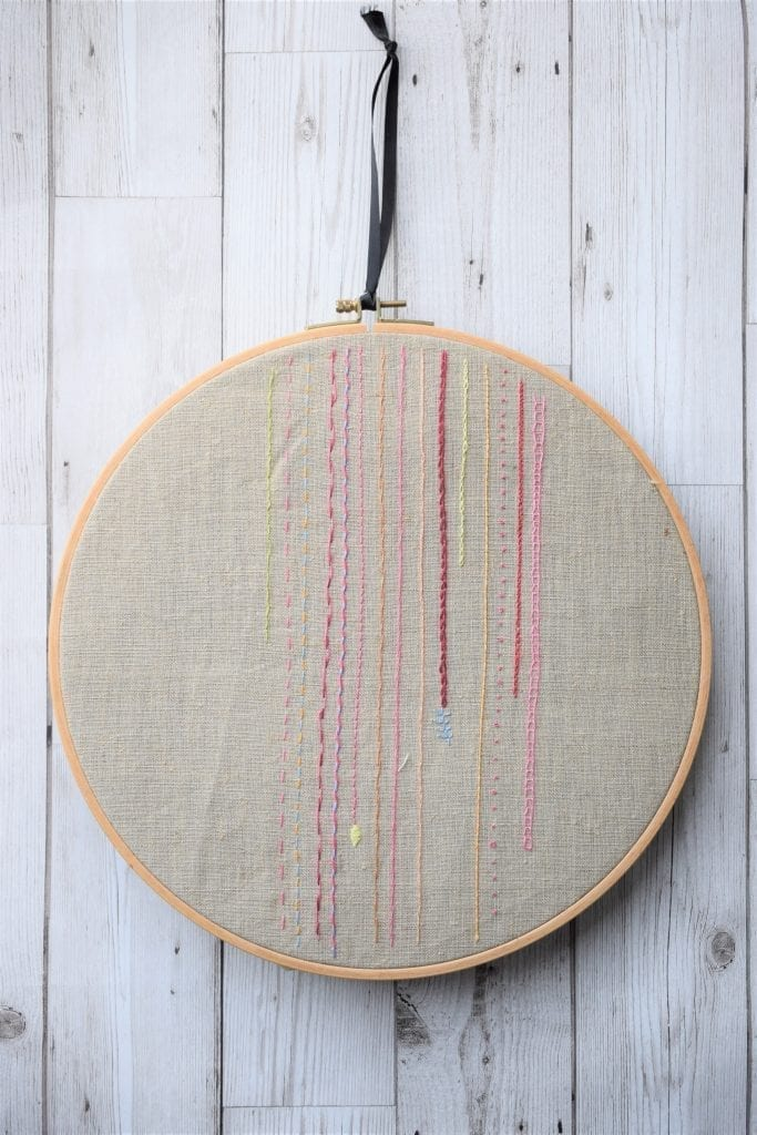sampler embroidery hoop, 7 ways to master embroidery