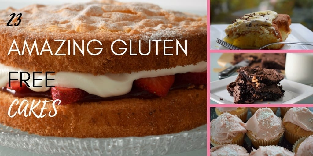 23 Amazing Gluten Free Cake Recipes